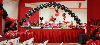 Minnie Mouse 1st Birthday Party Its More Than Just A Party Black