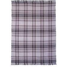 Brown Tartan Rug Purple U0026 Grey Tartan Cotton Picnic Rug Kukoon