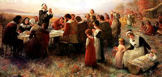 thanksgiving as harvest feast living in season time