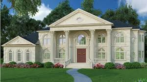house plans with portico magnificent portico hwbdo64986 neoclassical from builderhouseplans