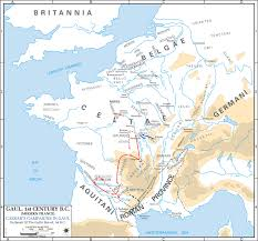 Rit Campus Map Map Of Gaul 54 Bc