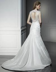 silk wedding dress simple silk wedding gown with chapel ipunya