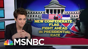 Battle Flags Of The Confederacy Mississippi Keeps Confederate Emblem In Flag Rachel Maddow