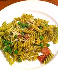 peas and prosciutto pesto pasta sweet splendor