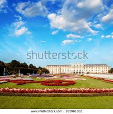 Wonderful Gardens Royal Palace Palace Garden Badenwurttemberg Ludwigsburg Stock