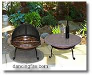Fire Pit Pad by Chiminea Sealer
