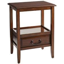 Accent Tables Cheap by Anywhere Tuscan Brown End Table With Pull Handles Pier 1 Imports