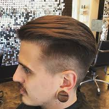 undercut slick back receding hairline how to slick your hair back mens slicked hairstyles