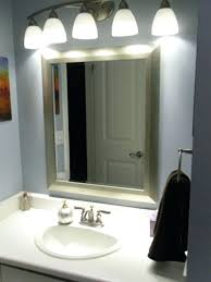 Above Mirror Vanity Lighting Lighting Bathroom Mirror Juracka Info