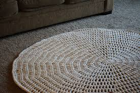 Diy Area Rug From Fabric Stunning Diy Crochet Rug Ideas