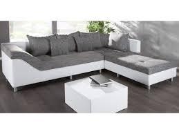 canapé d angle blanc et gris canape d angle droit sultan blanc gris