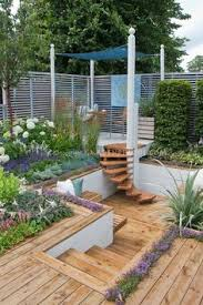 Multi Level Backyard Ideas Pin By Emily White On Dream Home Pinterest Patios Gardens And
