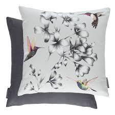harlequin cushions filled cushion amazilia floral linen 43cm x