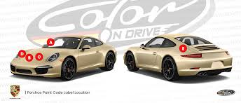 porsche touch up paint find touch up color for porsche color n