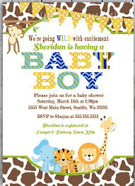 baby boy shower invitations color baby shower invitations for boys