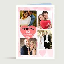 personalise anniversary card 2 personalised gifts indian crafts
