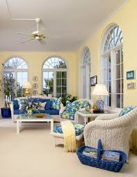Sunroom Dining Room Ideas Blue And Yellow Sunroom Sunrooms Pinterest Sunroom Sunrooms