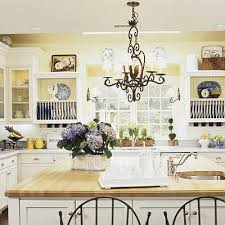 Kitchen Yellow Walls - best 25 yellow country kitchens ideas on pinterest yellow