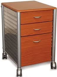 Mobile File Cabinet Innovex Skm02w99 Medium Cherry Contemporary Design Mobile File