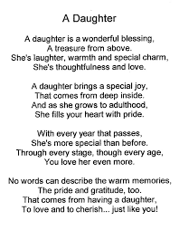 birthday poem for daughter from mom mypoems co