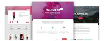 bootstrap material design the most popular html css and js