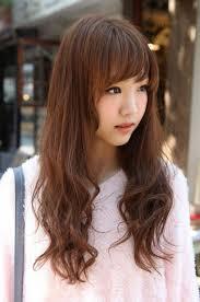 girls long hairstyle