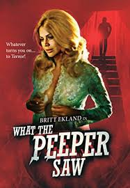 amazon com what the peeper saw blu ray various james kelley