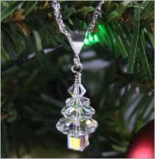 swarovski tree earrings clear
