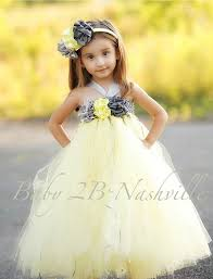 Yellow Dresses For Weddings Flower Dress Wedding Flower Dress In Yellow And