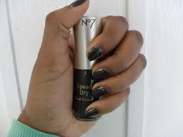 boots no7 speed dry nail colour in