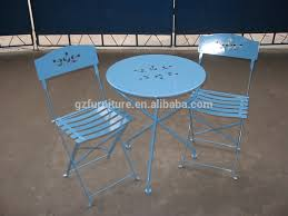 Metal Folding Bistro Chairs Outdoor Portable Folding Bistro Table And Chairs Set Buy