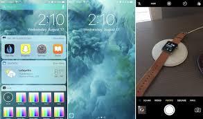 how to use ios 10 u0027s redesigned lock screen mac rumors