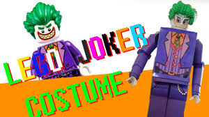 lego joker halloween costume 2017 youtube