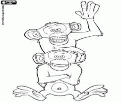 madagascar coloring pages printable games
