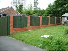 brick wall fence designs withal brick fence decorative block