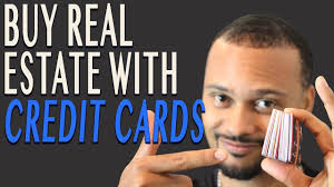 buy real estate with credit cards 100 percent financed youtube