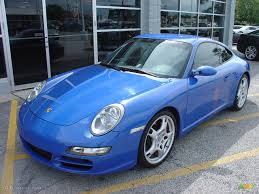 2006 blue metallic paint to sample porsche 911 carrera s coupe
