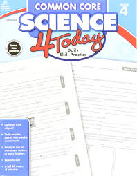 amazon com common core science 4 today grade 4 daily skill