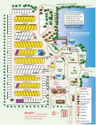 Carpinteria State Beach Campground Map by Mendocino Koa Campground Site Map Camping Research Pinterest