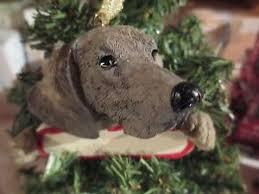 weimaraner ornament 54 ebay