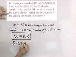 algebra word problem variation application youtube