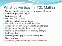 ks1 maths what we learn and our methods of teaching ppt download