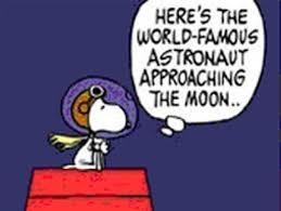 snoopy celebrates 40th anniversary moon flight