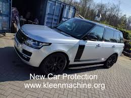 new car protection detailing package range rover vogue tewkesbury