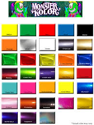 candy paint color chart handy home design