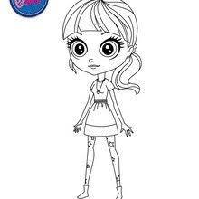 littlest pet shop coloring u2013 blythe baxter tv show