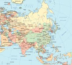 map if asia map of asia asia maps and geography