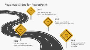 road map free roadmap slides for powerpoint slidemodel