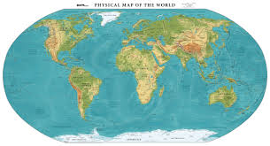 africa map elevation physical map of the world elevation maps
