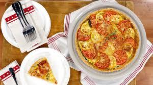 tomato zucchini tart today com